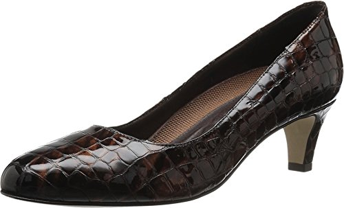 Walking Cradles Women's Joy Dress Pump, Brown Croco, 9 M ()