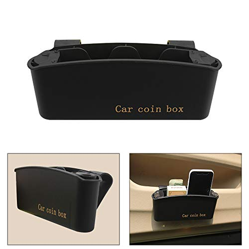 Car Coin Holder Change Organizer with Storage Box Crevice for sale  Delivered anywhere in USA
