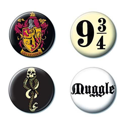 (Ata-Boy Harry Potter Favorites Assortment #4 Set of 4 1.25