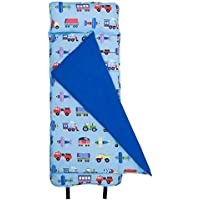 Wildkin Original Nap Mat, Features Built-In Blanket and...