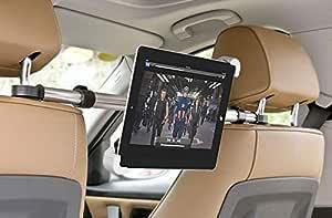 حامل تابلت يثبت على الكرسي الخلفي للسيارة بقياس 7 الى 10 انش مع ستاند لاجهزة الاي باد