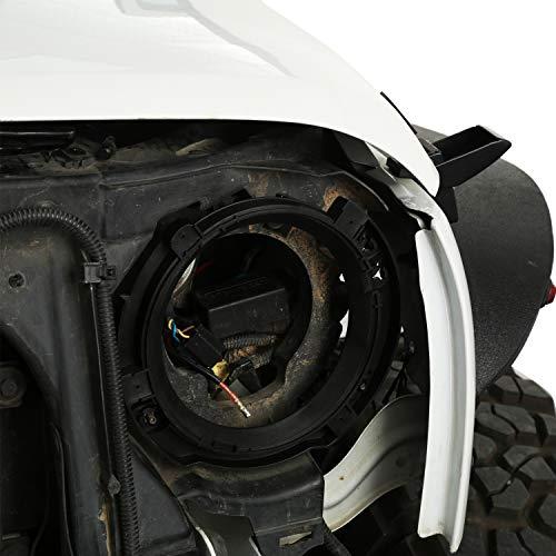 "For 2007-2018 Jeep Wrangler JK 7/"" Headlight Mount Bracket Ring Replacement"