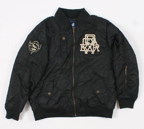 (Rocawear 4PL235N Mens Black Varsity Jacket Size: XXlarge )