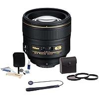 Nikon 85mm f/1.4G IF AF-S Nikkor Lens Bundle. USA. Value Kit with Accessories