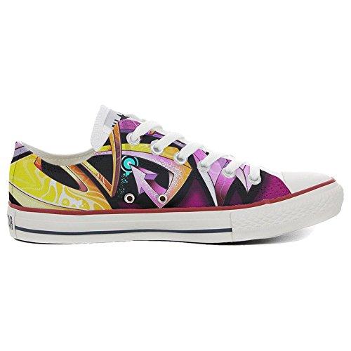 Star Personnalisé Italien Low Shoes et Converse Street Sneaker chaussures Your Imprimés Unisex coutume produit All artisanal Style Make fqAXIwA