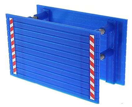 Dielenkammerbox 1:32 für Siku Baustelle und Bagger (Blau) Baggerheld