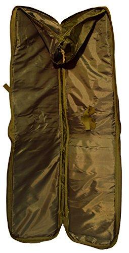 Kingrin softair Waffentasche / Gunbag Gewehr Pistole olivgrün 115cm Tasche Magazintasche