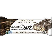 NuGo Dark, Chocolate Chocolate Chip, Dairy Free, 1.76-Ounce Bars (Pack of 12)