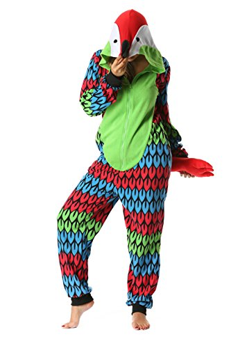 Just Love Adult Onesie/Womens Pajamas Parrot Medium