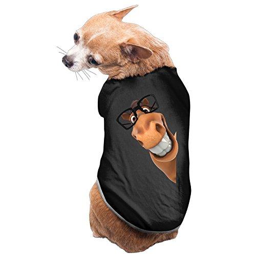 MEGGE Cute Donkey Comfortable Pet Doggie Tees Black (Shrek The Third Donkey Costumes)