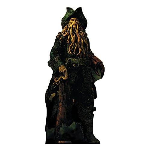 - Advanced Graphics Davy Jones Life Size Cardboard Cutout Standup - Disney's Pirates of the Caribbean