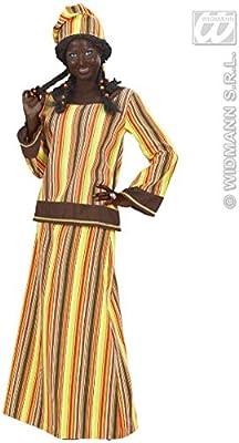 WIDMANN Desconocido Disfraz de africana para mujer: Amazon.es ...