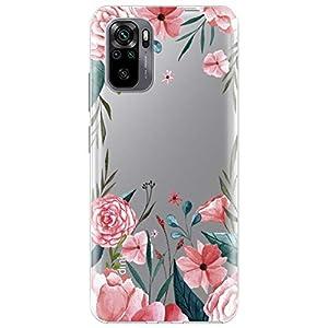 Fashionury Printed Soft Back Cover Case for Xiaomi Redmi Note 10 / Redmi Note 10S Designer Transparent Back Cover for…