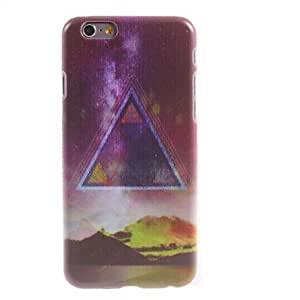Triangle and Hill Design PC Hard Case for iPhone 6