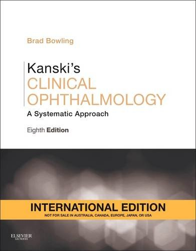 kanski s clinical ophthalmology a systematic approach brad bowling