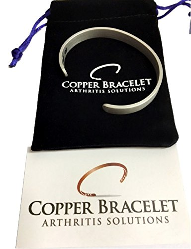 PEWTER Copper Bracelet Arthritis GUARANTEED
