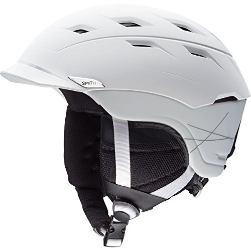 Smith Optics Variance Adult Mips Ski Snowmobile Helmet - Matte White / Medium by Smith Optics