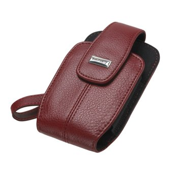 Blackberry tote Leather Case Pouch for Blackberry Pearl 8100 8100c 8110 8120 ()
