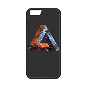 iPhone 6 4.7 Inch Cell Phone Case Black Impossible Galaxy Triangle HY2437449