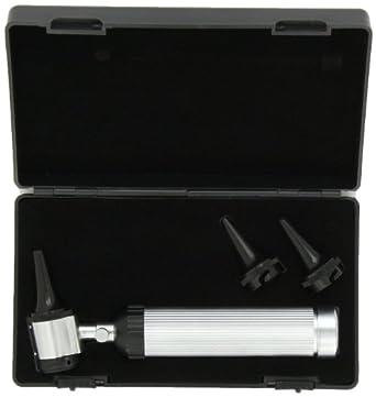 New Bright WHITE LED Professional Diagnostic Otoscope in Hard Case