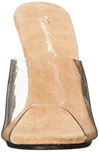 Pleaser USA Shoes ,  Scarpe col tacco donna Transparent/Peau 40