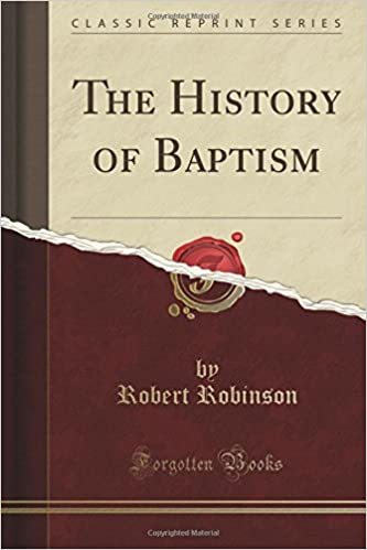 Book The History of Baptism (Classic Reprint)