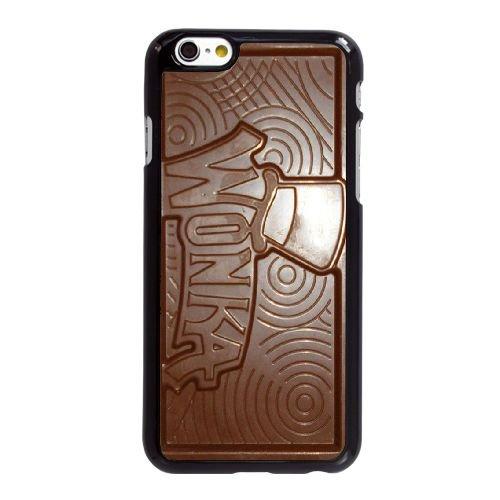 O5I36 Willy Wonka Golden Ticket Chocolate Bar L7Q6US coque iPhone 6 4.7 pouces cas de couverture de téléphone portable coque noire KL7JKC0GY