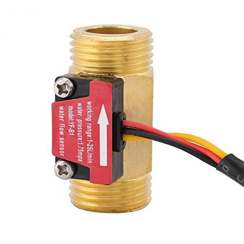 Single Mom Water Level Sensor Magnetic Durable 1-25L/min Water Flow Sensor Switch G1/2 Thread