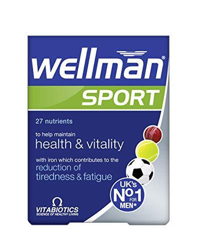 Vitabiotics Wellman Sport Tablets, 30 Tablets Wellman