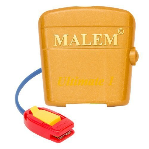 Malem Ultimate Bedwetting Enuresis Alarm with Vibration - Gold 8 Tone [Health and Beauty] by Malem (Image #8)