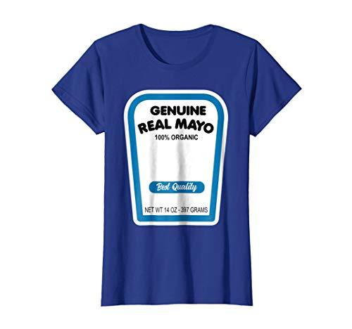 Funny Organic Real Mayonnaise Halloween Costume T-Shirt