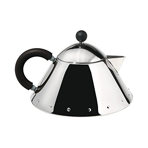 Alessi Teapot Black Handle By Michael Graves (Do NOT Use on Stove)