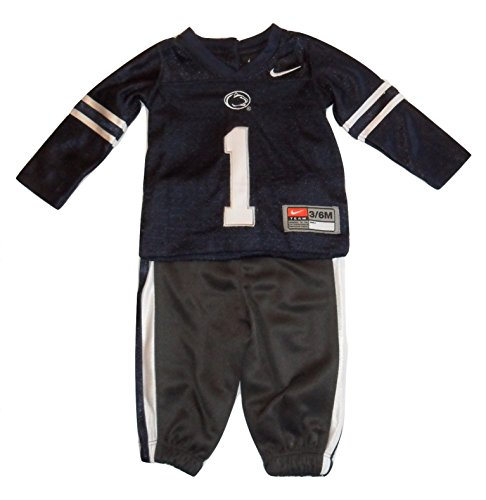 Nike Penn State Nittany Lions Infant Navy Football Jersey and Pants (3-6 Months)