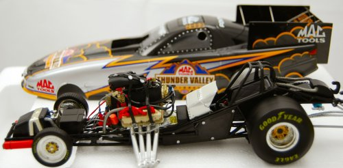 Action - NHRA 2003 Thunder Valley Nationals - Mac Tools Racing - Pontiac Firebird Funny Car - Rare Die Cast - 1 of 1200 - 1:24 Scale - Limited Edition - Mint - Collectible - (YL)