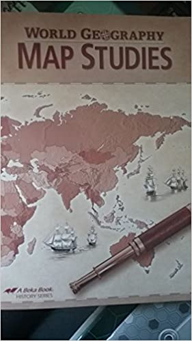 A beka world geography map studies student jeremy foster amazon a beka world geography map studies student jeremy foster amazon books gumiabroncs Gallery