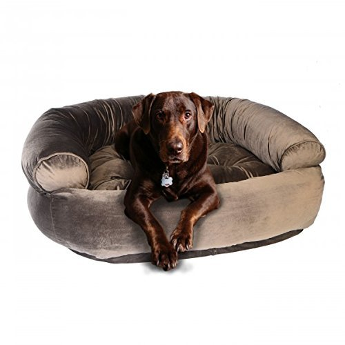 Microvelvet Double Donut Bed - Bowsers Double Donut Dog Bed