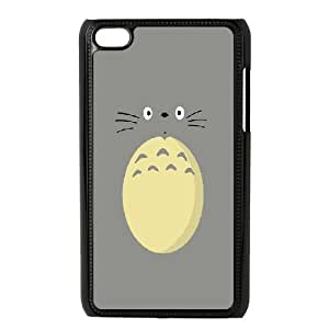 Bloomingbluerose Totoro, from Tonari no Totoro Cases for Ipod Touch 4, with Black