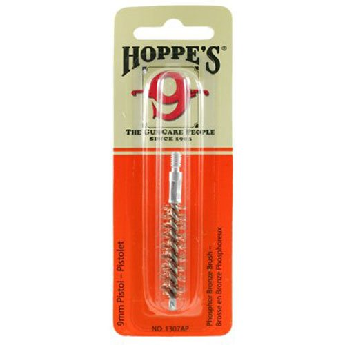 Hoppe's No. 9 Phosphor Bronze Brush, 9mm Pistol (Bronze Brush 9mm Pistol)