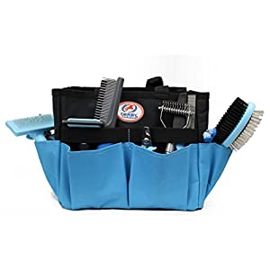 cuteNfuzzy 11 Piece New Pet Small or Large Grooming Starter Kits in 2 Colors for Dogs & Cats (Small, Blue) Click on image for further info.