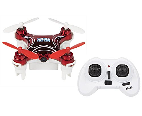 World Tech Toys 2.4Ghz Nemo Spy Drone – Video/Picture Camera 4.5 Channel RC Quadcopter