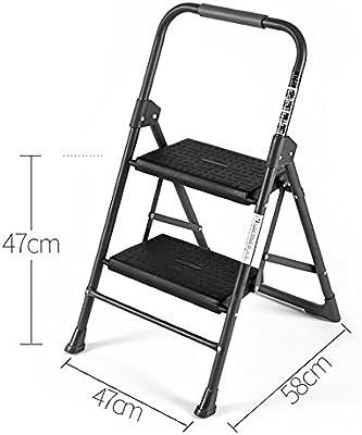 BJL Taburete Step Escalera de Acero Inoxidable para Taburete de Escalera para Adultos Sillas de Cocina abatible para escabel pequeña/Escalera de Tijera/Plataforma de Almacenamiento/Rack de Flore: Amazon.es: Hogar
