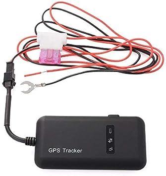 GPS Tracker, TKSTAR Auto Camión Vehículo GPS Ortung Tiempo real GPS Locator Mini GSM GPRS GPS Registrador con App gratuito GT02 A