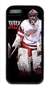 Jimmy Howard Red Wings Customizable iphone 5C Case by icasepersonalized Kimberly Kurzendoerfer