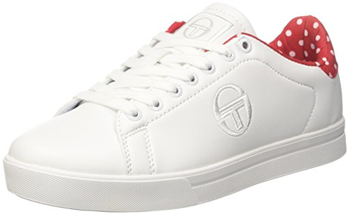 Tacchini Sergio Sneaker Forher Red Donna Bianco Pois dUvUnaz