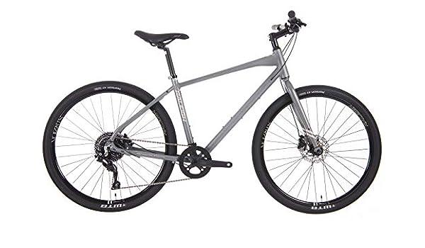 Raleigh Strada 5 Gents 10 velocidad 650B – Bicicleta híbrida, color gris, gris: Amazon.es: Deportes y aire libre