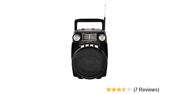 Bluetooth Supersonic SC-1390BT Portable//Rechargeable Speaker 4-Band Radio