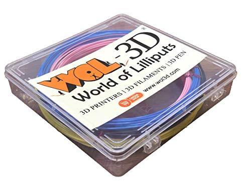 WOL 3D (5 In 1) 5M Pla 3D Pen Filament Pack (5Pcs)
