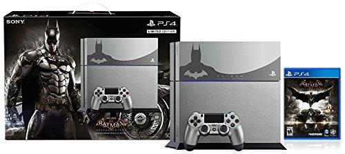 PlayStation 4 500GB Console – Batman Arkham Knight Bundle Limited Edition[Discontinued] (Renewed)