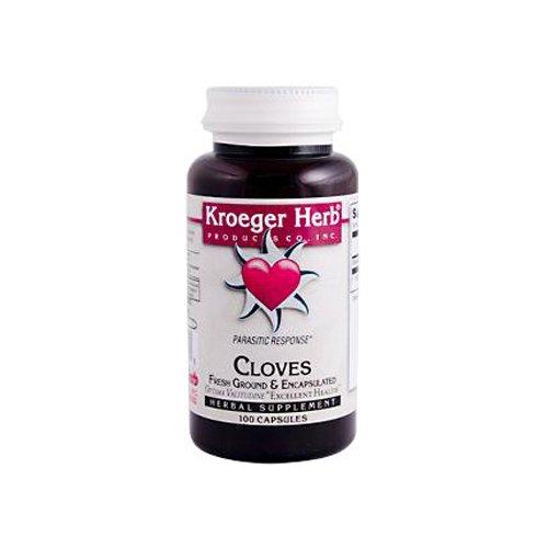 (Wholesale Kroeger Herb Fresh Ground Cloves - 450 mg - 100 Vegetarian Capsules, [Health & Beauty, Homeopathic Remedies])