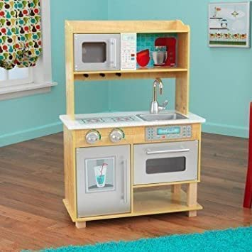 Captivating KidKraft Natural Toddler Kitchen